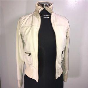 Jackets & Blazers - Casual Cream Jacket